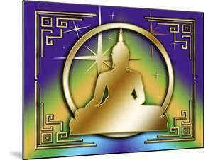 Art Deco Buddha 1 by Art Deco Designs
