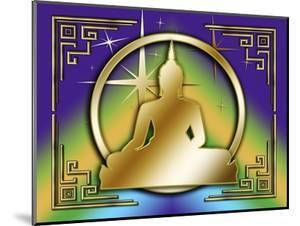 Art Deco Buddha 1 by Art Deco Designs