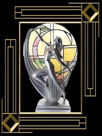 Art Deco Lamp Frame 3