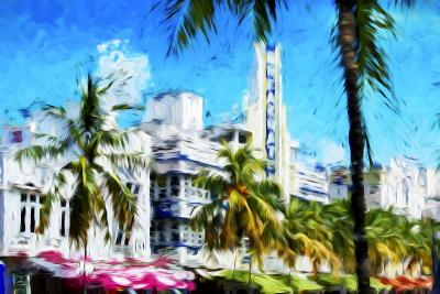 Art Deco District - In the Style of Oil Painting-Philippe Hugonnard-Giclee Print