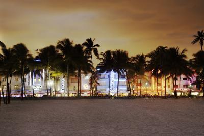 Art Deco District Miami South Beach-Ixefra-Photographic Print