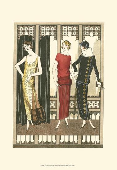 Art Deco Elegance I--Art Print
