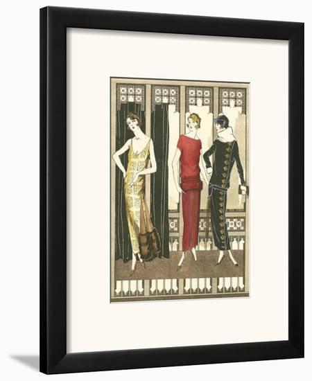 Art Deco Elegance I--Framed Art Print