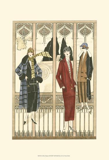 Art Deco Elegance III--Art Print