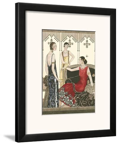 Art Deco Elegance IV--Framed Art Print