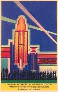 Art Deco Entrance, Chicago World's Fair