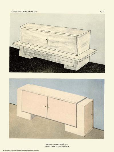 Art Deco French Interior Design Illustrations--Art Print
