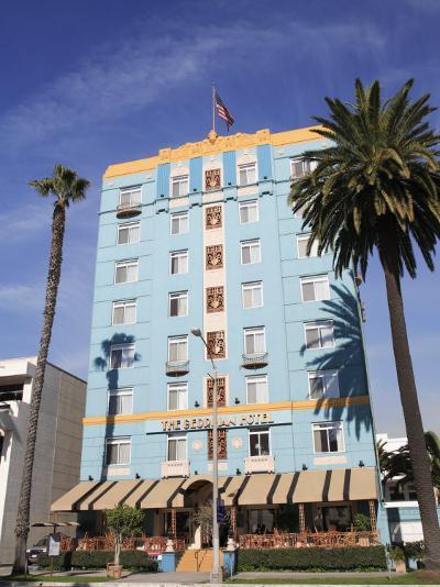 Art Deco, Georgian Hotel, Ocean Avenue, Santa Monica, Los Angeles-Wendy Connett-Photographic Print