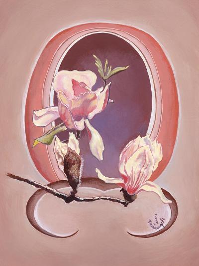 Art Deco Magnolias-Judy Mastrangelo-Giclee Print