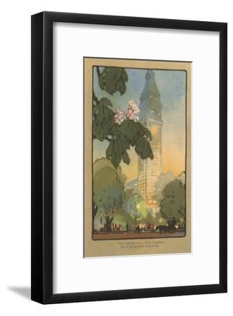 Art Deco Rendering of Metropolitan Tower, New York City