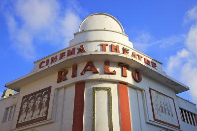Art Deco Rialto Cinema, Casablanca, Morocco, North Africa-Neil Farrin-Photographic Print