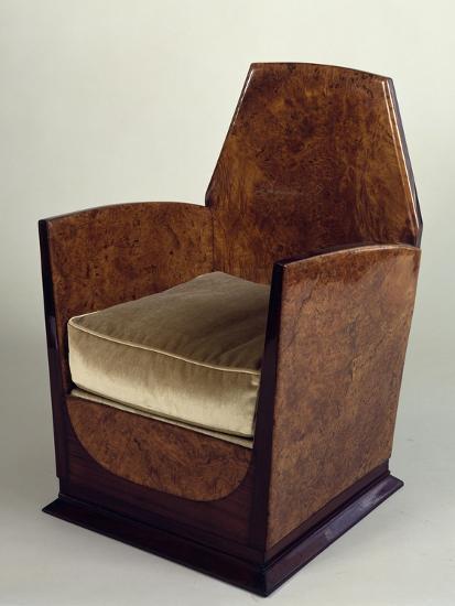 Art Deco Style Armchair, 1930--Giclee Print