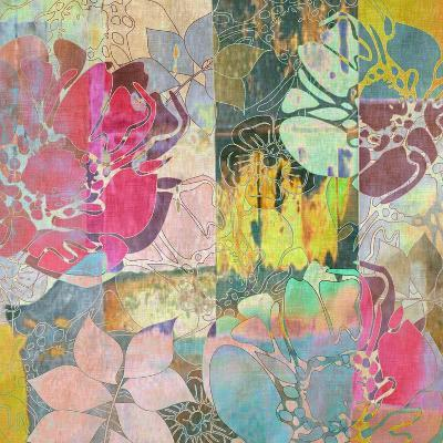 Art Floral Grunge Background Pattern-Irina QQQ-Art Print