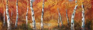 Autumn Birch I by Art Fronckowiak
