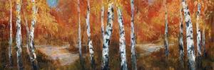 Autumn Birch II by Art Fronckowiak