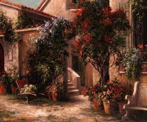 Garden Court by Art Fronckowiak