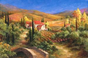 Tuscan Bridge by Art Fronckowiak