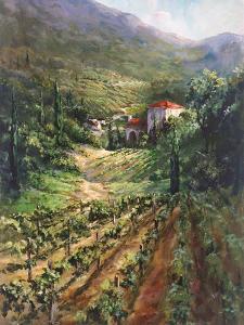 Tuscany Vineyard by Art Fronckowiak