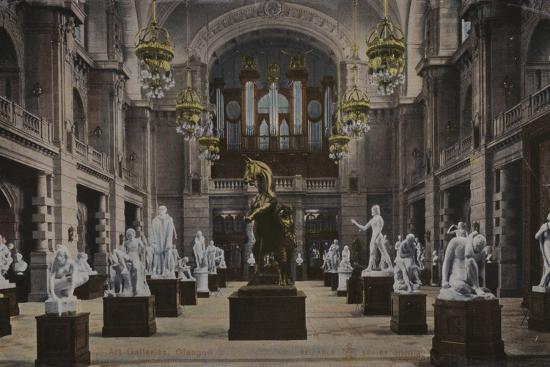 Art Galleries, Glasgow--Photographic Print