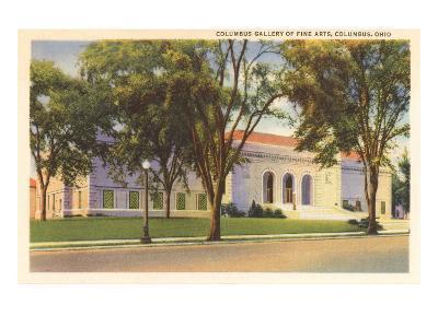 Art Gallery, Columbus, Ohio--Art Print