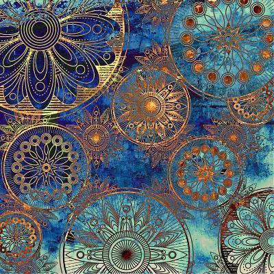 Art Grunge Pattern. To See Similar, Please Visit My Portfolio-Irina QQQ-Art Print
