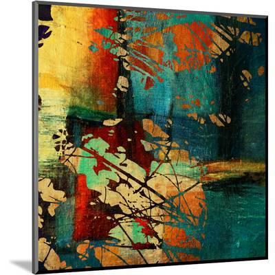 Art Grunge Vintage Texture Background. To See Similar, Please Visit My Portfolio-Irina QQQ-Mounted Print