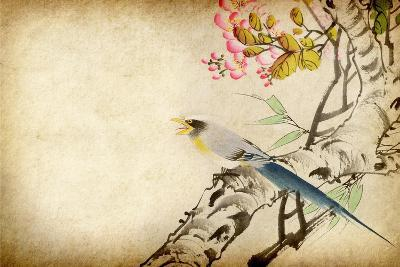 Art Grunge Vintage Texture-Wu Kailiang-Art Print