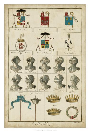 Art Heraldique I--Giclee Print