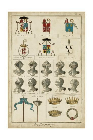 Art Heraldique I-Vintage Collection-Art Print