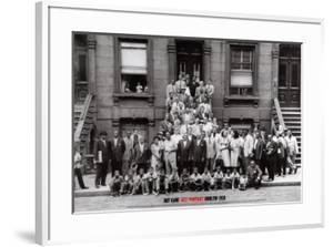 Jazz Portrait - Harlem, New York, 1958 by Art Kane