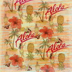 Aloha Hulas Pattern by Art Licensing Studio