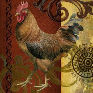 Belle Rooster I by Art Licensing Studio