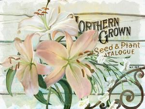 Farm Seed Lilies by Art Licensing Studio