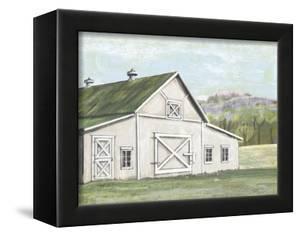 Field Barn in Spring by Art Licensing Studio