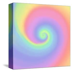 Pastel Rainbow Swirl by Art Licensing Studio