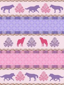 Roving Wolf Pattern by Art Licensing Studio