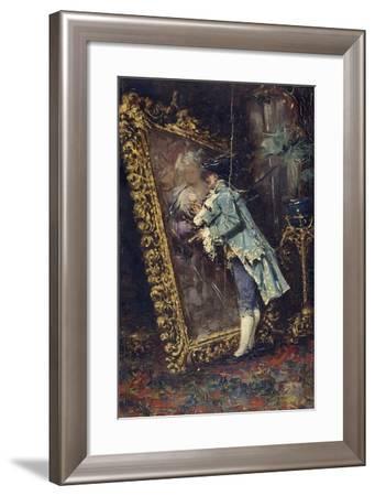 Art Lover, 1860, by Mariano Jose Maria Bernardo Fortuny Y Carbo--Framed Giclee Print