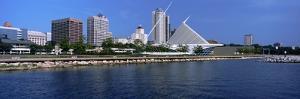 Art Museum at the Waterfront, Milwaukee Art Museum, Lake Michigan, Milwaukee, Wisconsin, USA