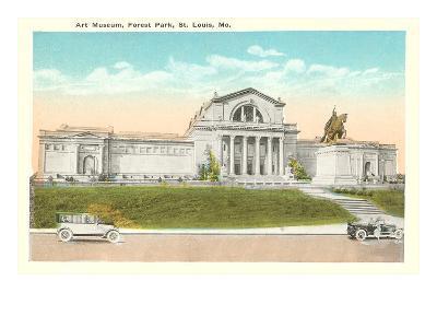 Art Museum, St. Louis, Missouri--Art Print