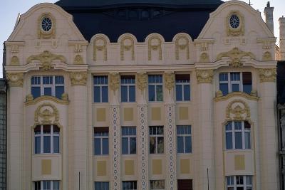 Art Nouveau Facade of Bank Building, 1906, Main Square--Giclee Print
