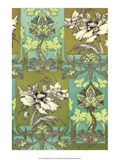 Art Nouveau Flower, Plate 31-Jules-Auguste Habert-Dys-Art Print