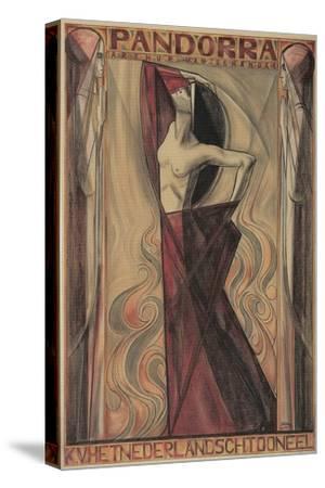 Art Nouveau Pandorra Playbill