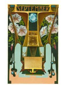 Art Nouveau September, Libra