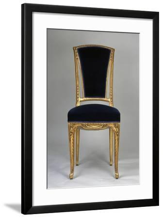 Art Nouveau Style Chair, Part of Living Room Set, Ca 1910-Louis Majorelle-Framed Giclee Print