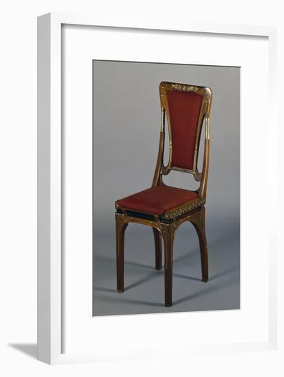 Art Nouveau Style Chair-Eugenio Quarti-Framed Premium Giclee Print