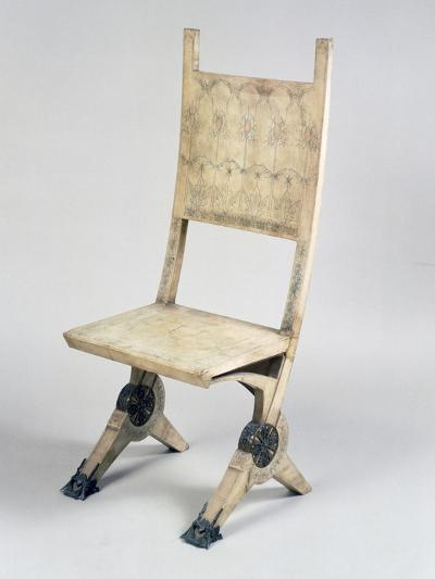 Art Nouveau Style Deck Chair-Carlo Bugatti-Giclee Print