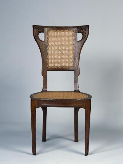 Art Nouveau Style Dining Room Chair, 1905-1908-Henri Bellery-desfontaines-Giclee Print