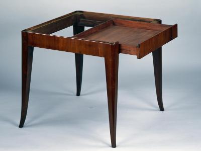 Art Nouveau Style Games Table, Open, 1925-Emile Galle-Giclee Print