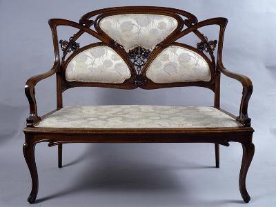Art Nouveau Style Sofa, France--Giclee Print