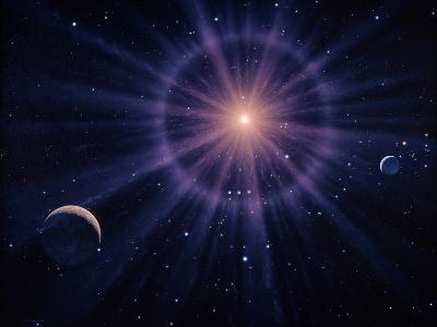 Art of Betelgeuse As Supernova-Joe Tucciarone-Photographic Print